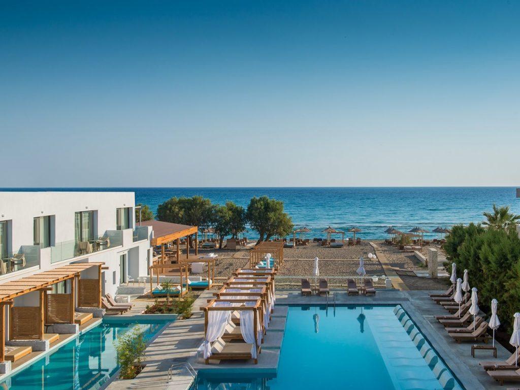 Hotels met swim-up