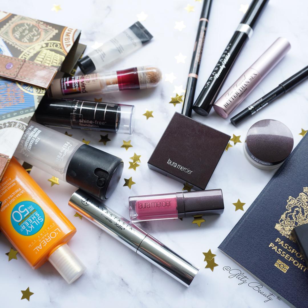 Make-up tas inpakken
