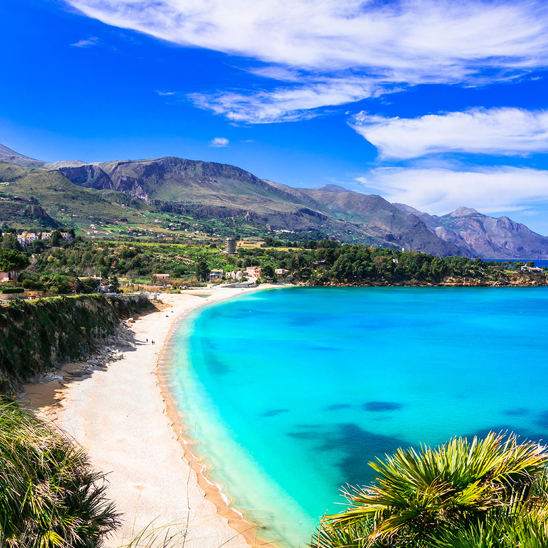 Paradijselijke bestemming Sicilië