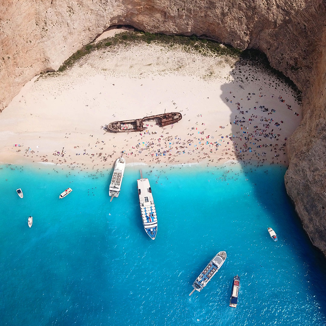 Paradijselijke bestemming Zakynthos