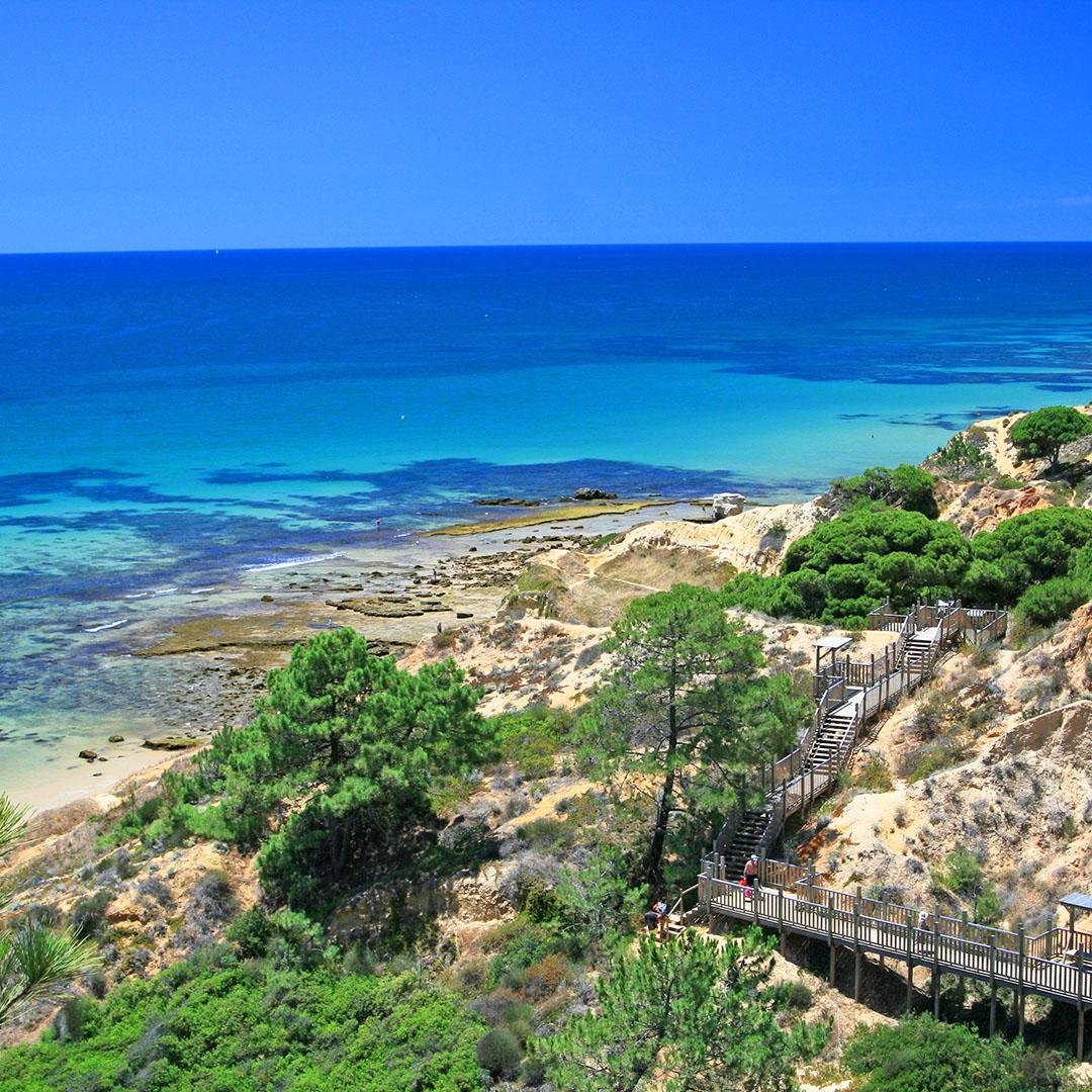 Paradijselijke bestemming Praia da Falesia