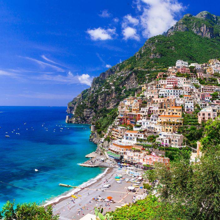 Paradijselijke bestemming Amalfikust