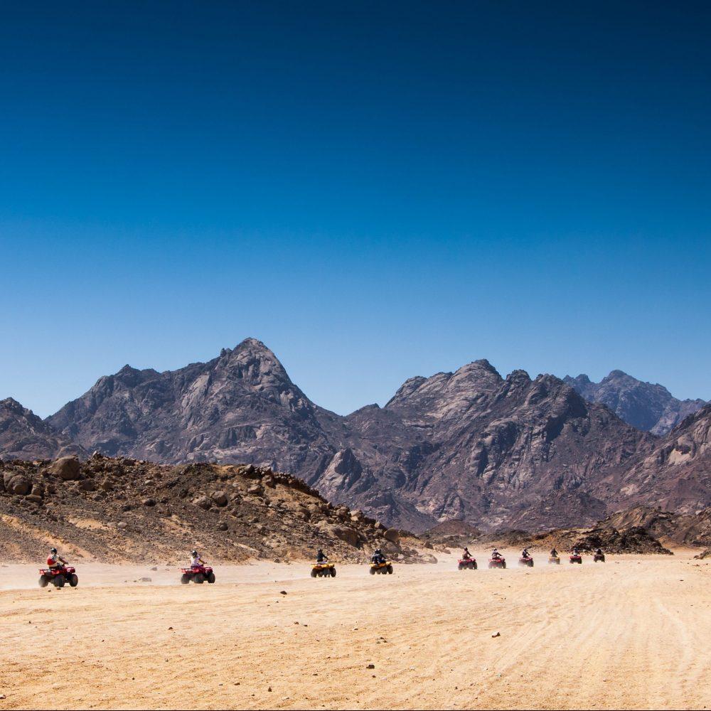 dry canyon egypte