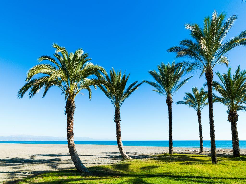 Torremolinos strand