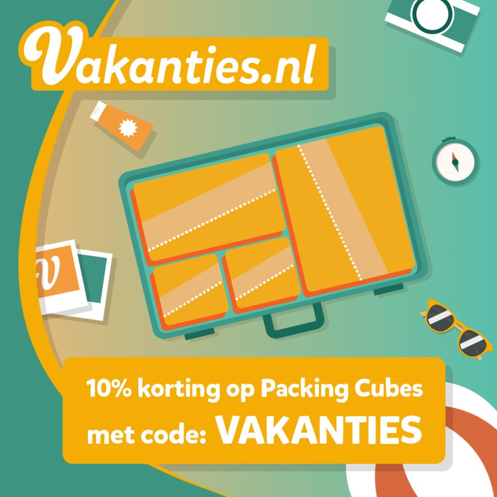 Kortingscode Packing Cubes