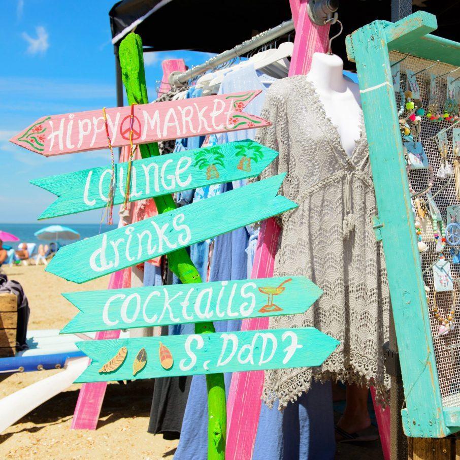 hippie markt op Ibiza