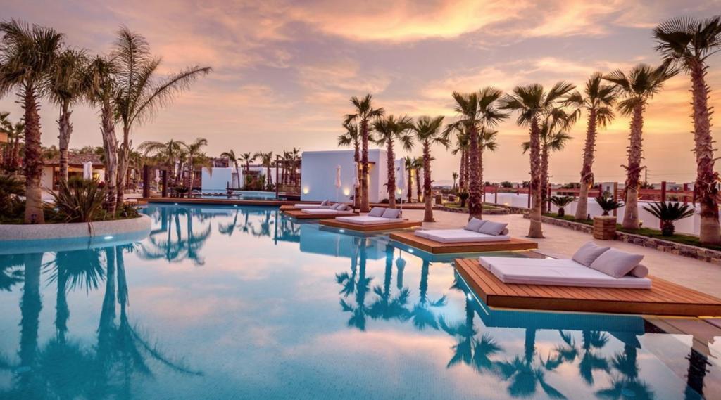 Swim-up kamer in Griekenland: Stella Island Luxury Resort & Spa