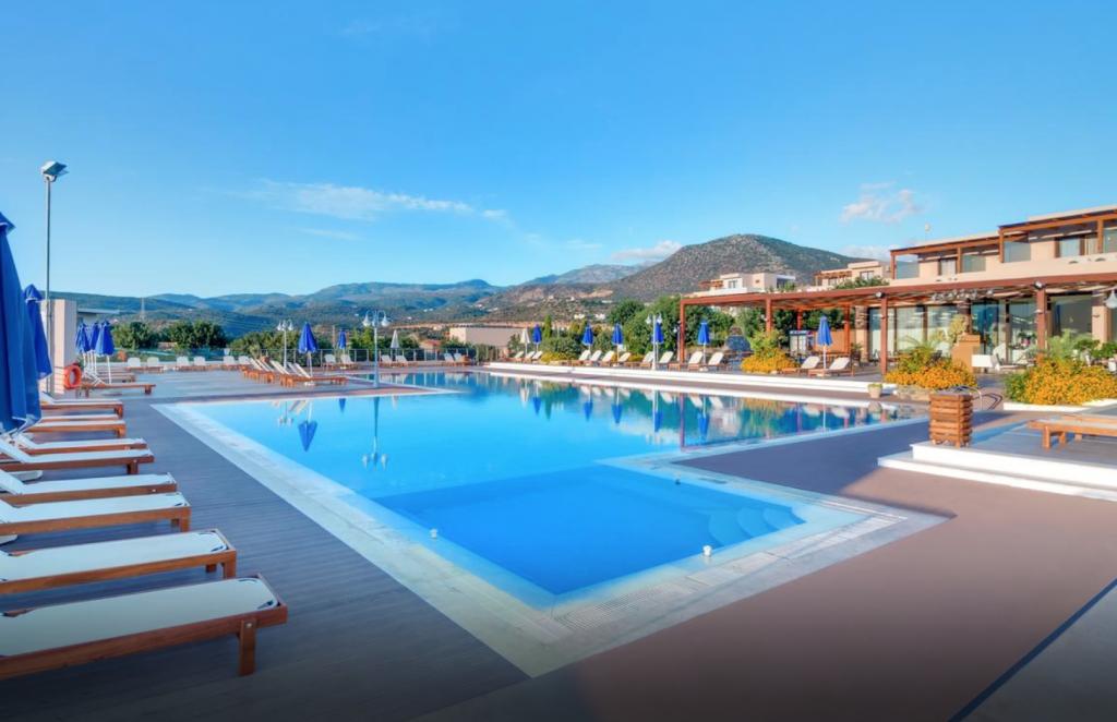 Swim-up kamer Griekenland: Miramare Resort & Spa
