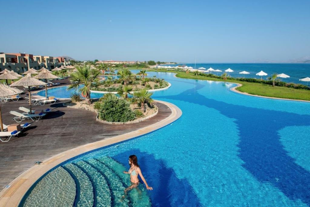 Swim-up kamer Griekenland: Astir Odysseus Resort and Spa