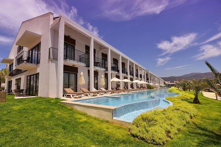 Swim-up kamer Turkije: Jiva Beach Resort