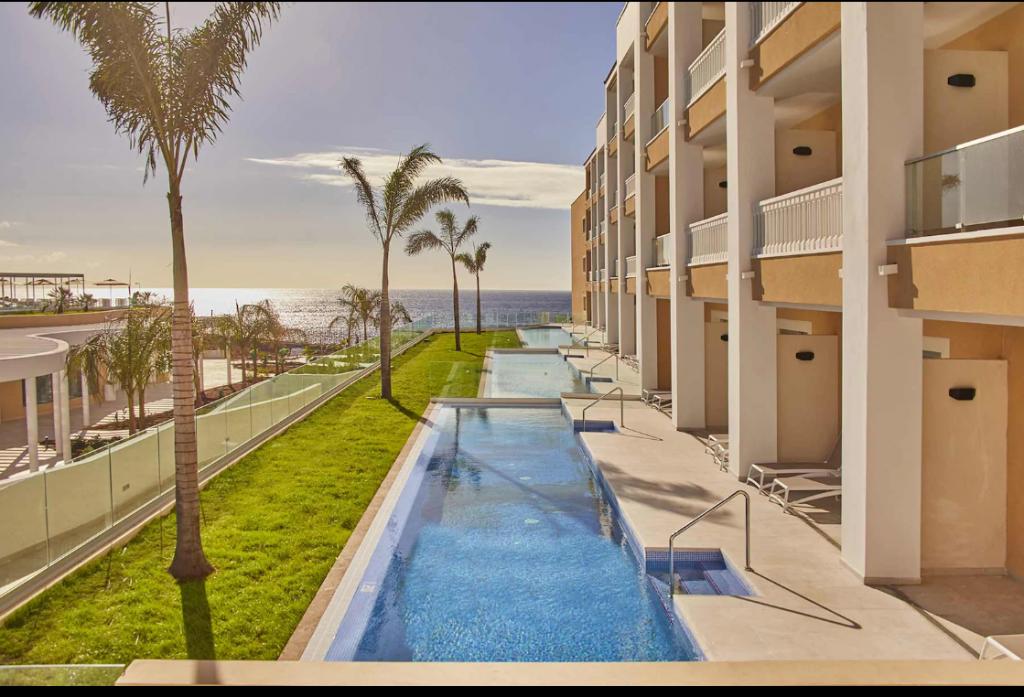 Swim-up kamer Spanje in het Fantasia Bahia Principe Tenerife hotel in Spanje
