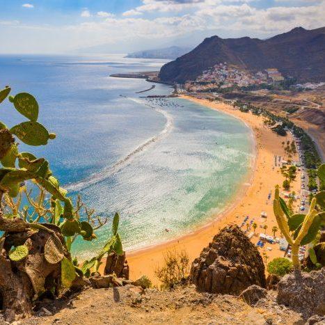 Tenerife strand de la teresitas