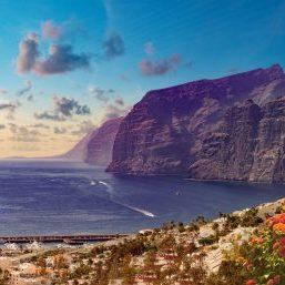 Tenerife strand los gigantes