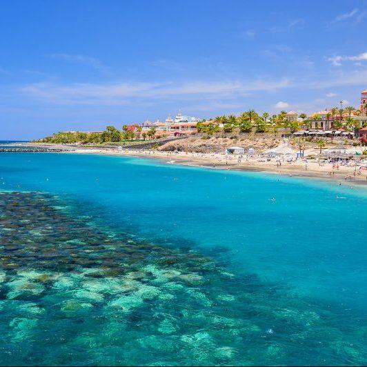 Tenerife strand Playa El Duque