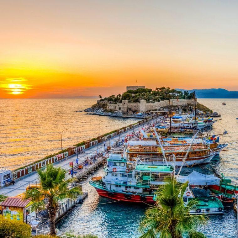 Badplaatsen Turkije